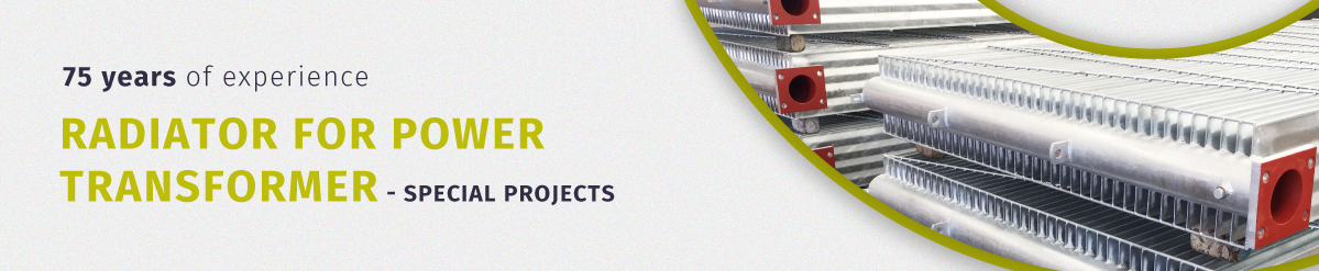 Radiator for Power Transformer - Special projects